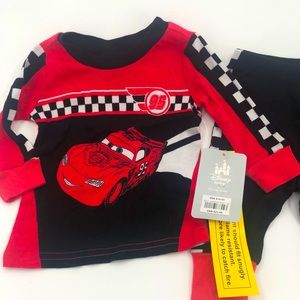 🎉HP🎉3/6 Disney Store Cars 2 Pc Pajama Sleep Set
